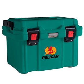 Pelican 20 Quart Elite Cooler Aqua Green