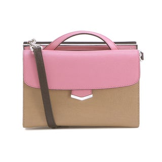 Fendi Small Demijour Tan Leather Shoulder Bag