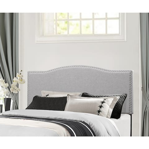 Hillsdale Furniture Kiley Grey Wood/Fabric Full/Queen Headboard