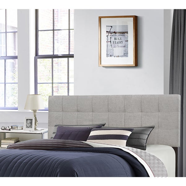 Genial Shop Hillsdale Furniture Delaney Glacier Grey Fabric Wood Full/Queen  Headboard   On Sale   Free Shipping Today   Overstock   13769578