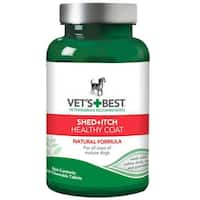 Vet's Best Dog Healthy Coat Shed and Itch Supplement