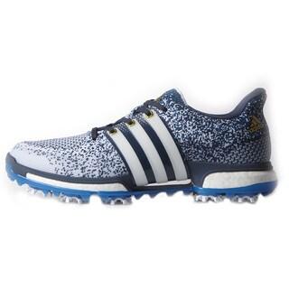Adidas Tour360 Prime Boost Golf Shoes White/Blue