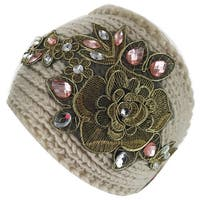 Kate Marie Floral Design Knitted Headband