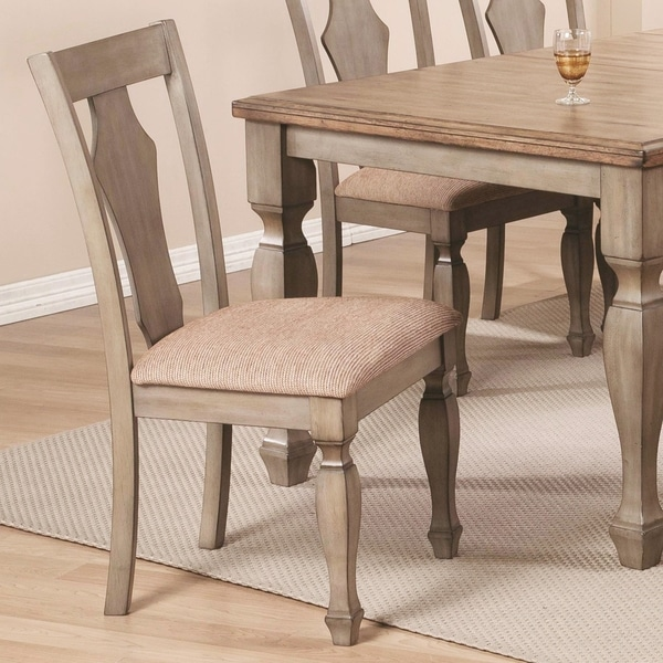 Rustic Antique Cottage Design Dining Chairs (Set of 2) - Shop Rustic Antique Cottage Design Dining Chairs (Set Of 2) - Free