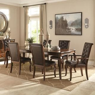 Strasbourg Elegant Traditional French Style 7-piece Dining Set