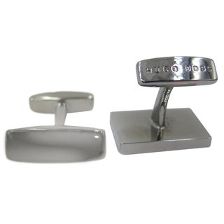Hugo Boss Marold Silver Brass Cufflinks