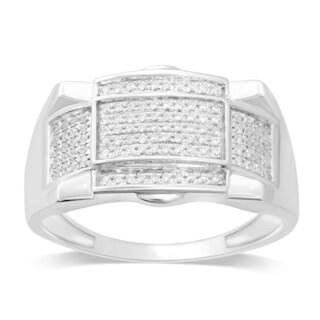 Unending Love 10k White Gold 1/4ct TDW White Diamond Ring (I-J, I2-I3)