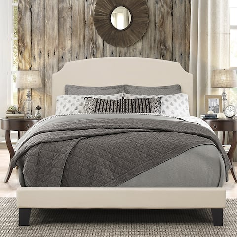 Hillsdale Furniture Desi Bed In One, Linen Fabric