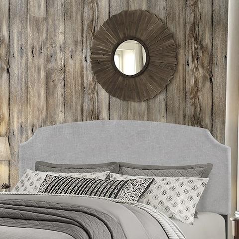 Hillsdale Furniture Desi Glacier Grey Fabric Full/Queen Headboard Only