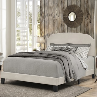 Hillsdale Furniture Addison Bed in One, Fog Fabric