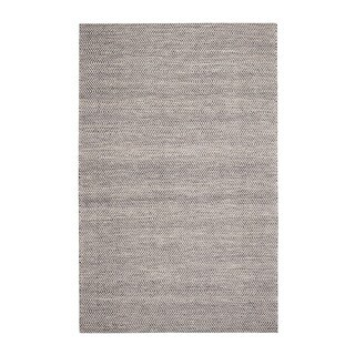 Jani Anthe Grey Natural Fibers Handwoven Rug (9' x 12')