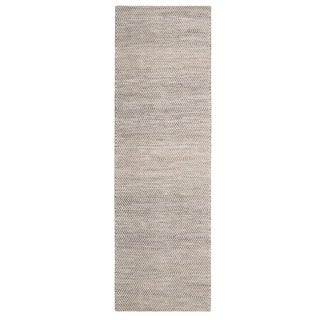 Jani Anthe Tan Natural Fibers Handwoven Rug (2'6 x 8')