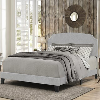 HIllsdale Furniture's Desi Bed in One - Glacier Gray Fabric