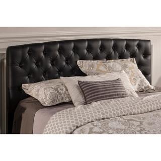 Hillsdale Furniture Hawthorne King/ California King Headboard in Black PU Leather - Frame Included