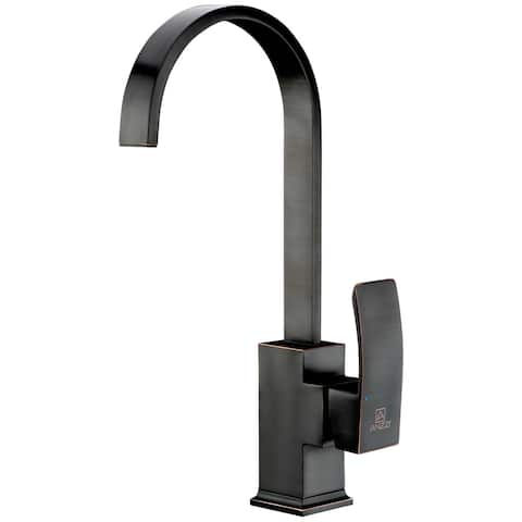 ANZZI Opus Series Single-Handle Standard Kitchen Faucet in Oil Rubbed Bronze