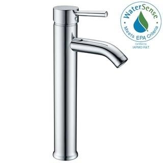 ANZZI Fann Single Hole Single-handle Vessel Bathroom Faucet in Polished Chrome