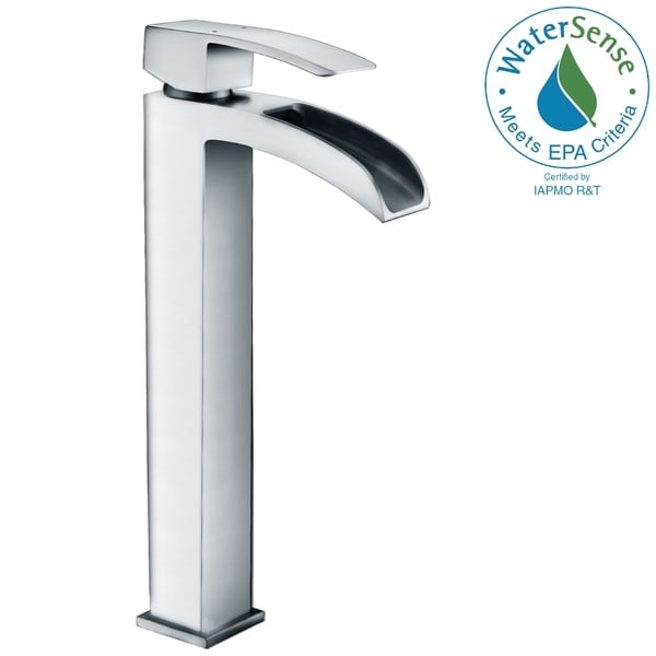 ANZZI Key Series Single Hole Single-handle Vessel Bathroom Faucet in Polished Chrome