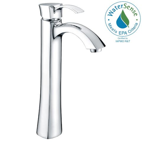 ANZZI Harmony Single-handle Vessel Bathroom Faucet in Polished Chrome