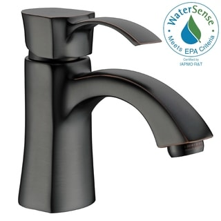 ANZZI Alto Series Single Hole Single-handle Mid-arc Bathroom Faucet in Oil Rubbed Bronze