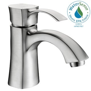 ANZZI Alto Series Single Hole Single-handle Mid-arc Bathroom Faucet in Brushed Nickel