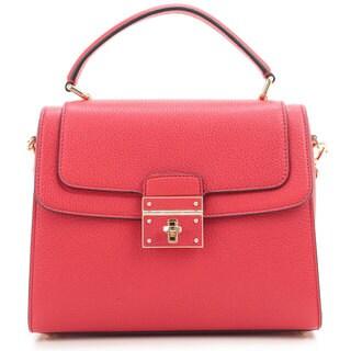 Dolce and Gabbana Greta Light Red Tote Handbag