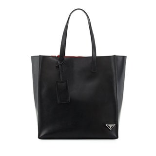 Prada Convertible Large Shopper Tote Handbag