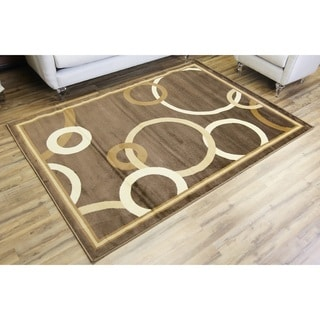 Passion Brown Polypropylene Machine-made Area Rug (8' x 10')