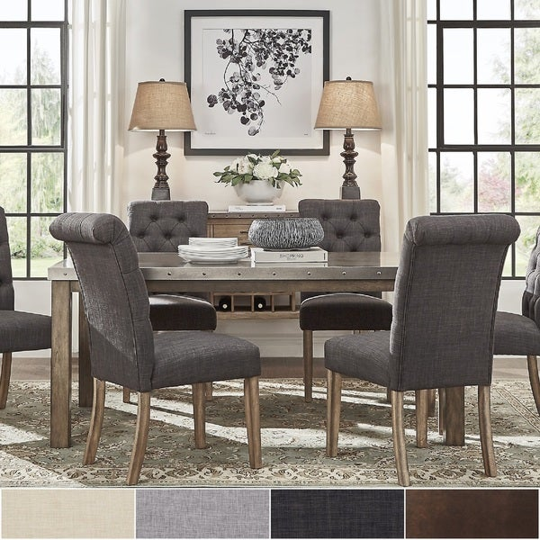 Cidy Stainless Steel Top Rectangle Dining Table 5 Piece Set By Inspire Q