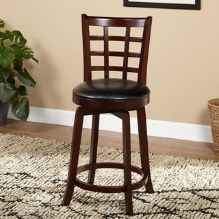 Simple Living Odessa Swivel Counter Height Stool
