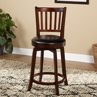 Simple Living Dallas Swivel Counter Height Stool