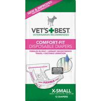 Vet's Best Comfort-Fit Disposable Female Dog Diaper