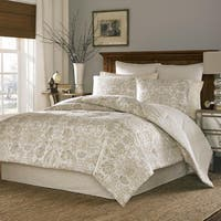Stone Cottage Belvedere 100-percent Cotton Sateen 4-piece King Size Comforter Set (As Is Item)