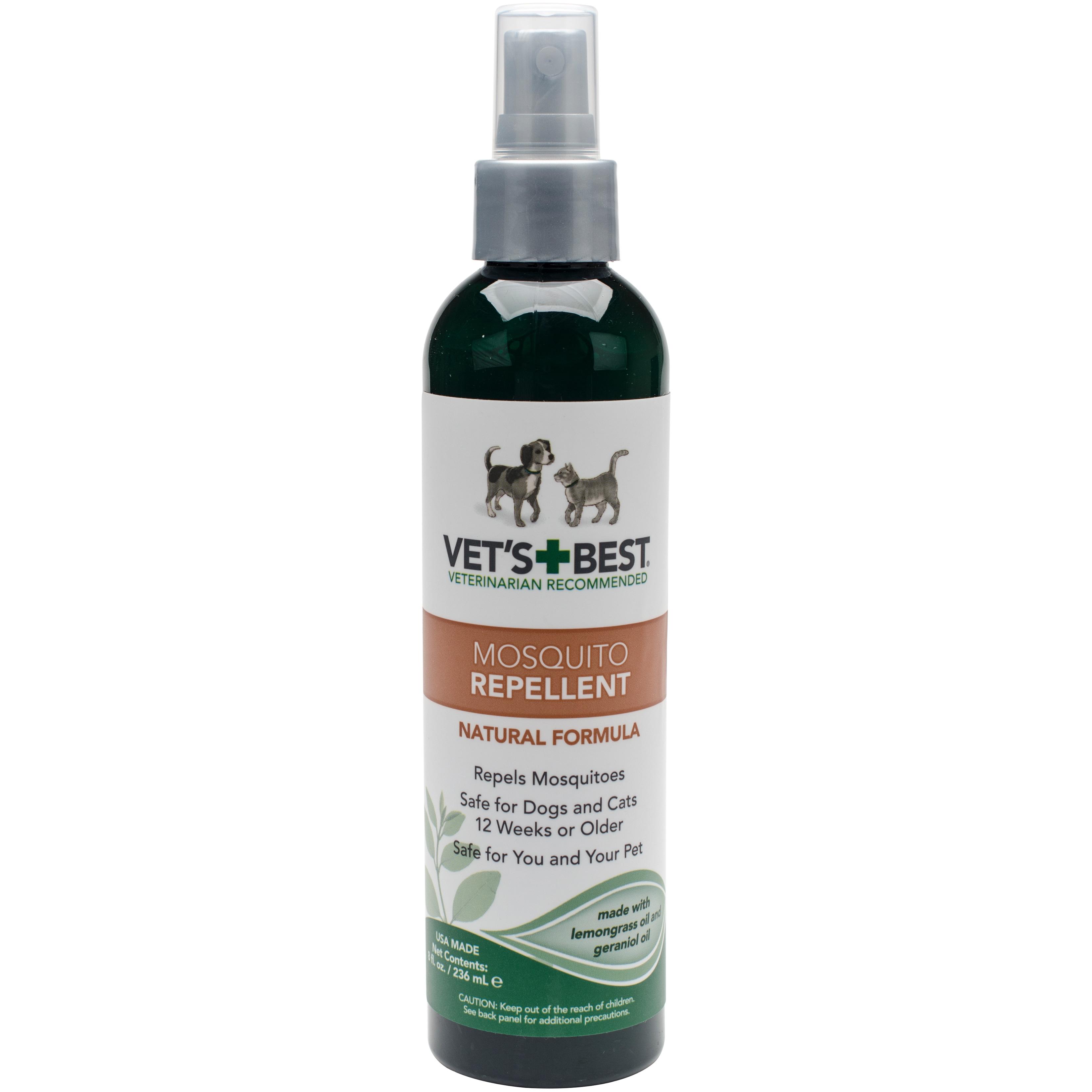 Vet's Best Pet Natural Mosquito Repellent (8 ounces), Clear