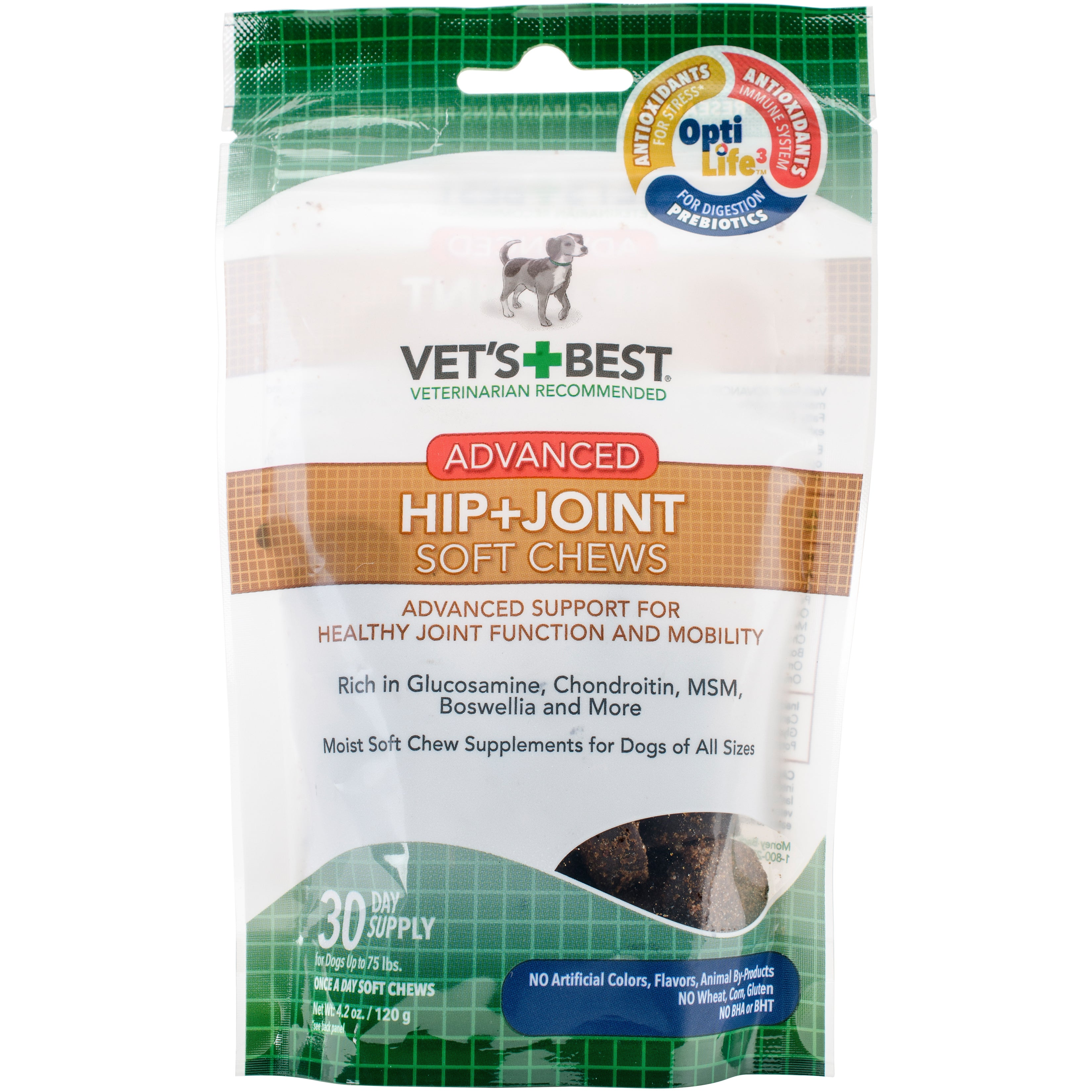 Omega Vet's Best Advanced Hip and Joint Dog Soft Chews (3...