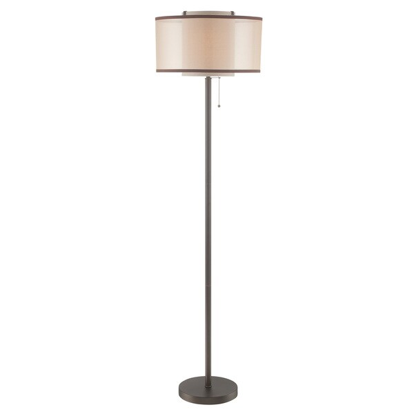 Lite Source 1-Light Fabrizio Floor Lamp
