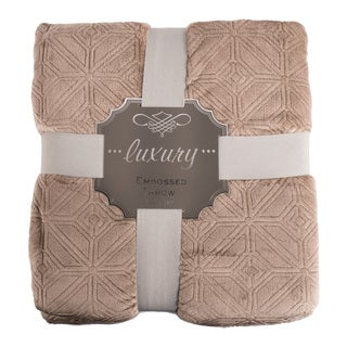 Luxury Oversized Comfort 3D Embossed Throw