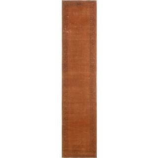 "Noori Rug Distressed Bari Orange/Brown Rug - 2'5"" x 12'8"""