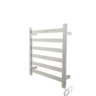 ANZZI Note 6-Bar Stainless Steel Wall Mounted Electric Towel Warmer Rack in Polished Chrome