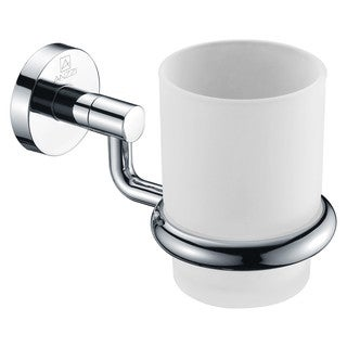 ANZZI Caster Series Polished Chrome Toothbrush Holder