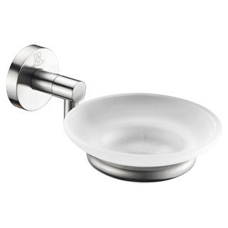 ANZZI Caster Series Soap Dish in Brushed Nickel