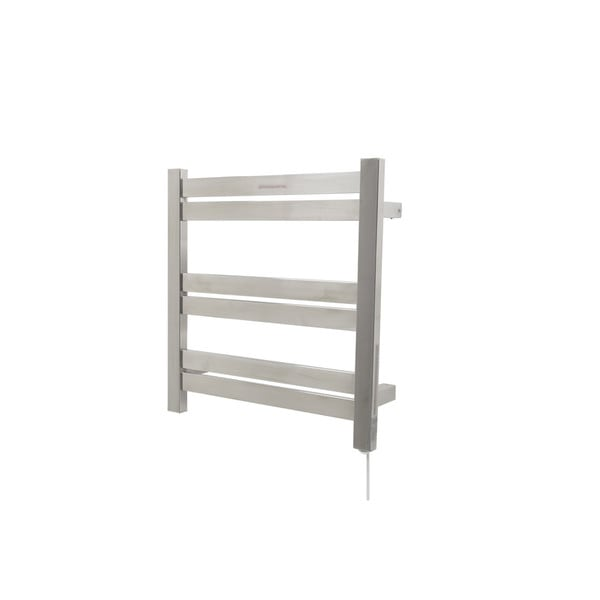 Big Size Stainless Towel Warmer Heated Towel Rack: Shop ANZZI Starling 6-Bar Stainless Steel Wall Mounted