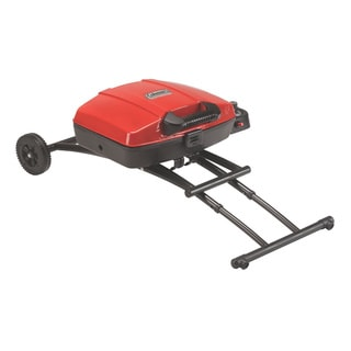Coleman Sportster Foldable Red and Black Propane Grill
