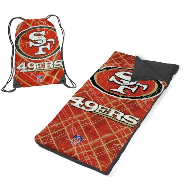 San Francisco 49ers Nap Mat with Draw String Bag