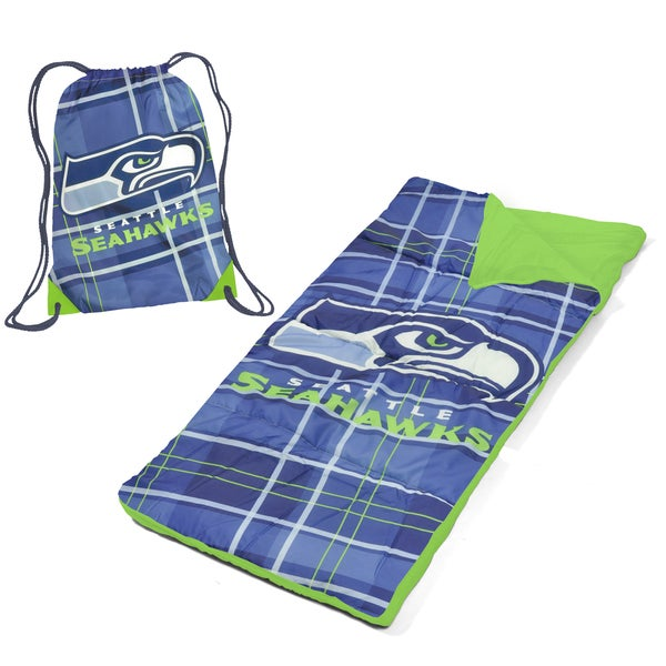 Seattle Seahawks Nap Mat with Drawstring Bag