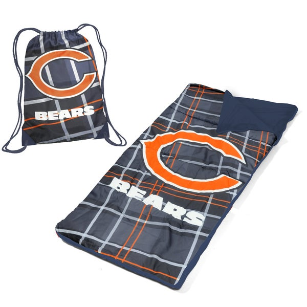 Chicago Bears Nap Mat with Drawstring Bag