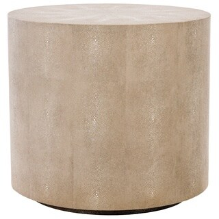 Safavieh Couture High Line Collection Diesel Faux Stingray End Table