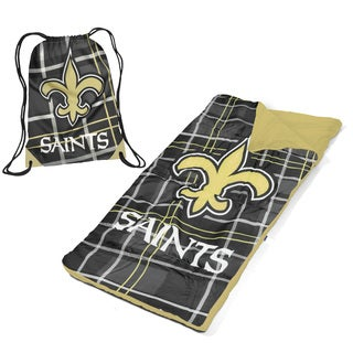New Orleans Saints Nap Mat with Drawstring Bag