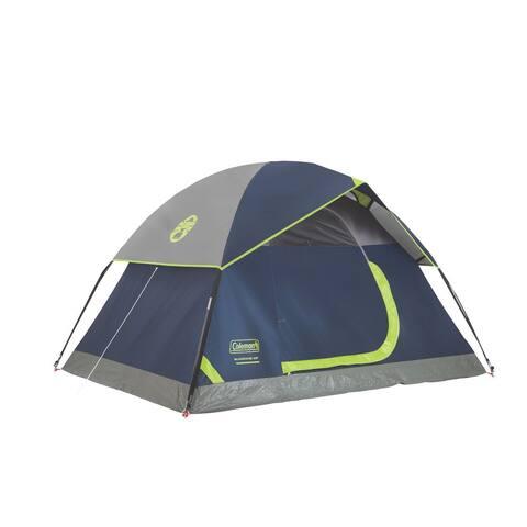 Coleman Sundome Blue Nylon and Fabric 2-person Dome Tent