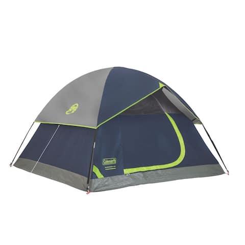 Coleman Sundome Blue Nylon 4-person Dome Tent
