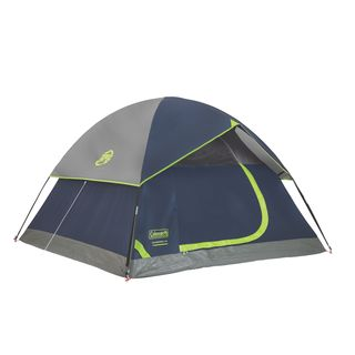 Coleman Sundome Blue Nylon 4-person Dome Tent